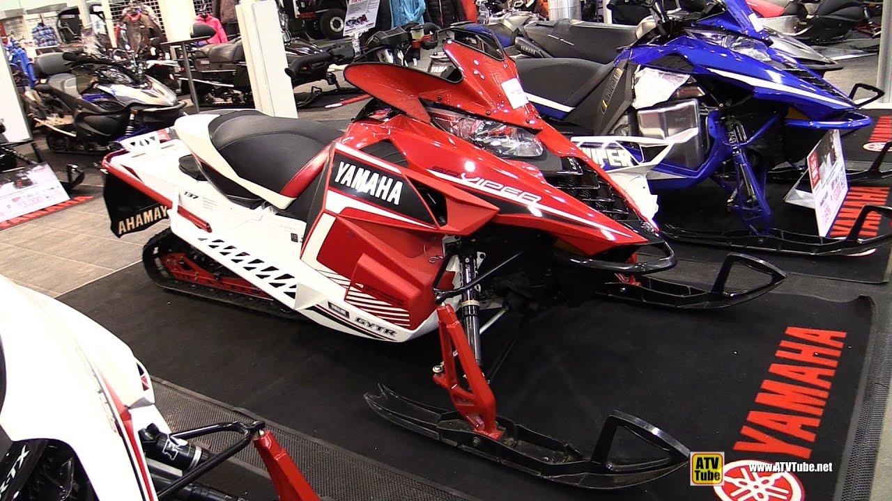 2016 yamaha sr viper l tx se sled walkaround 2015 toronto snowmobile atv show youtube