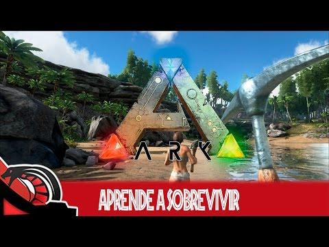 APRENDE A SOBREVIVIR | Ark Survival Evolved - Guía 1 Lo básico