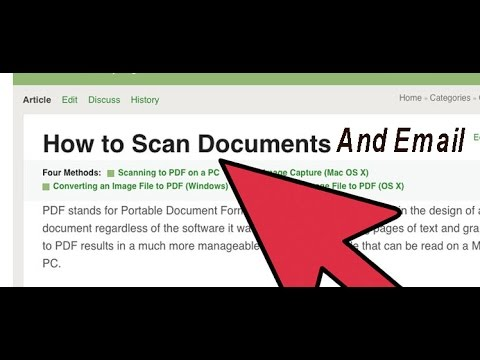 how to scan documents to pdf in windows 10