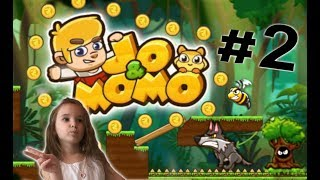 Онлайн игра мультик Джо и Момо 2 для детей/Jo amp; Momo game 2 for kids