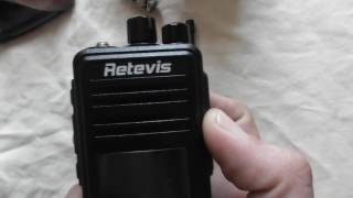 retevis RT3 dmr review part 1