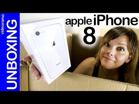Apple iPhone 8 unboxing -¿pocas novedades?-