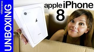 Apple iPhone 8 unboxing -¿pocas novedades?-