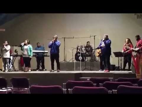 Powerhouse Youth band Rehearsal - Your Name Brings Healing To Me