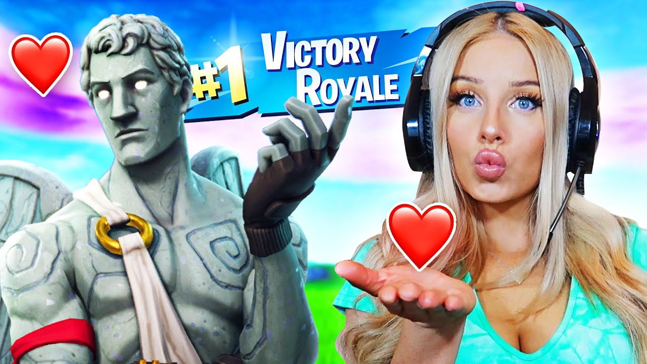 IF YOU WIN FORTNITE, I will be your NEW Girlfriend!!