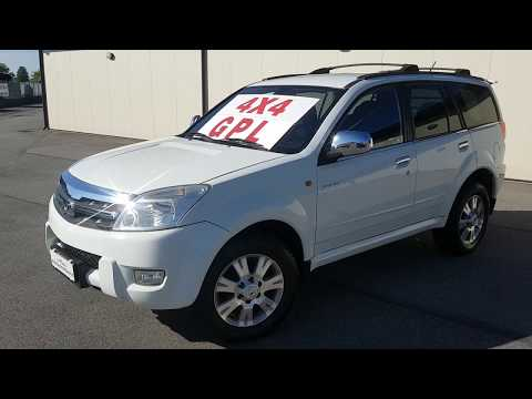 """GREAT WALL Hover """"Luxury"""" 2.4 133cv 4x4 GPL"""