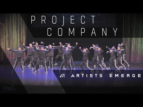 [2nd Place] PROJECT COMPANY |  MEGACREW ALL-STARS  |  Artists Emerge 2018