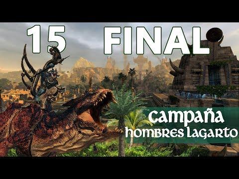 Total War WARHAMMER 2 | Campaña Hombres Lagarto - Episodio 15 FINAL