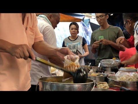 60 Yr Old Chee Cheong Fun In Serdang Market 沙登巴剎第三代赖豬腸粉档