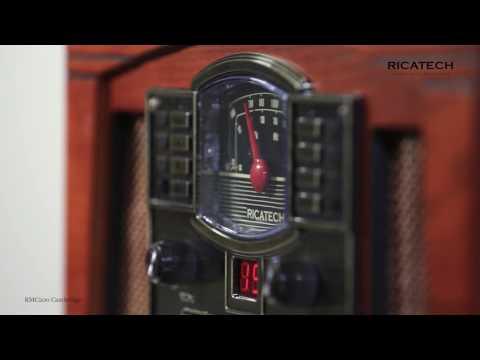 Ricatech RMC200 Cambridge 5 in 1 Music Centre, turntable, CD, Cassette, radio, line in, headphone