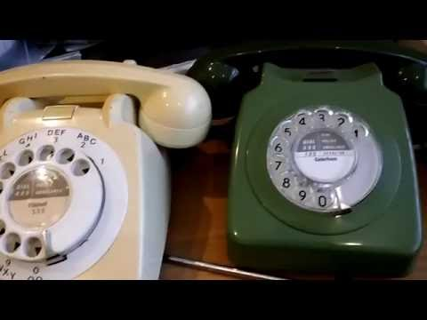 How To Remove The Dial Label From Old British Telephones 706 & 746 etc