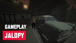 Jalopy - tutorial & first route - Early Access gameplay