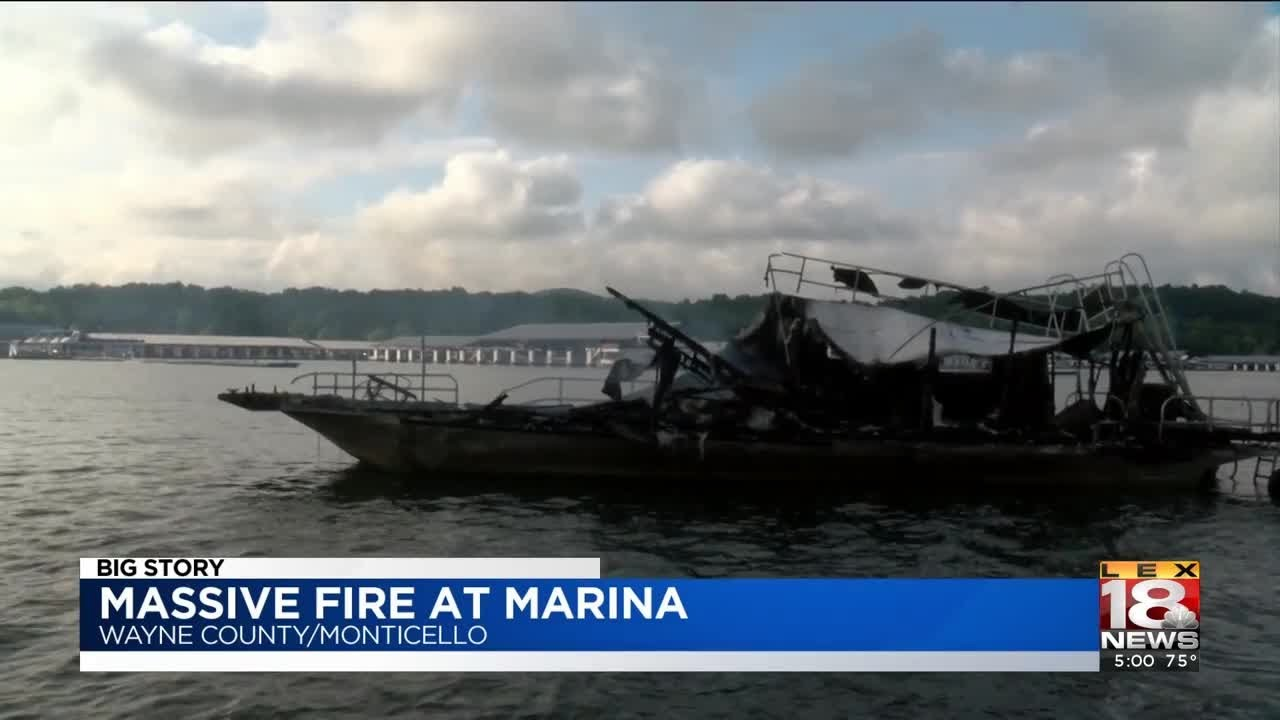 Dispatch: Fire At Conley Bottom Marina