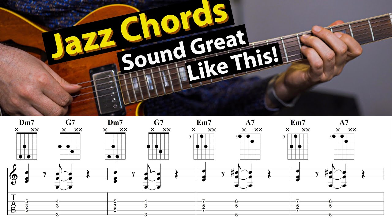 15 Basic Jazz Chord Exercises That You Want To Know