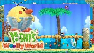Sandstrand & Boss Xilebo #3 🧶 Yoshi's Woolly World | Let's Play Wii U