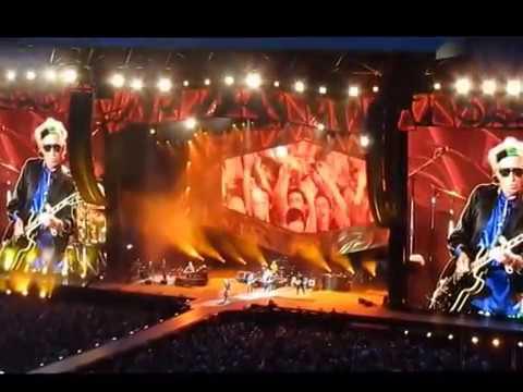 The Rolling Stones  en vivo en Madrid el 25/06/2014 (full concert multicam)