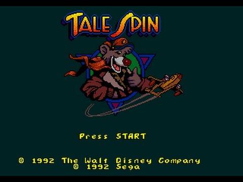 Mega Drive Longplay [422] TaleSpin