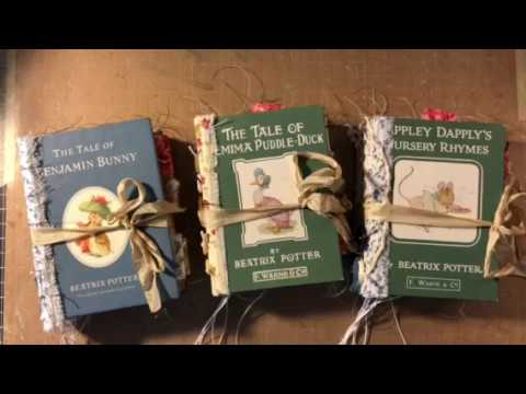 ALL SOLD _ Thank You!! - Beatrice Potter Mini Journals - Part 2 -