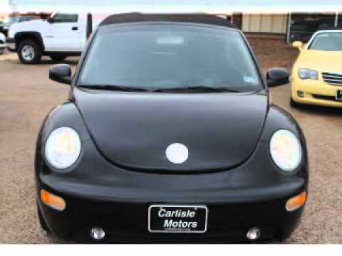 2005 VOLKSWAGEN NEW BEETLE CONVERTIBLE Lubbock Texas