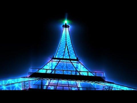 Neon Eiffel Tower /ネオンエッフェル塔