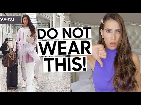 9 Things You Should NEVER Wear to the Airport | Travel Outfit Tips