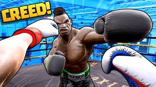 Can we become VR BOXING WORLD CHAMPION?! || Creed: Rise to Glory VR HTC Vive Pro Gameplay Part 1