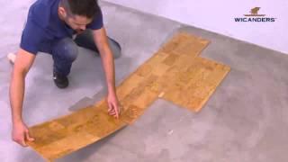 видео Пробковый пол - покрытие в ванной комнате, фото
