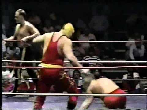 WW 2/25/89 Russian Assassins vs Mike Justice & Robbie Heath