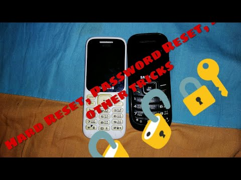 Some tricks and How to unlock Samsung basic phone