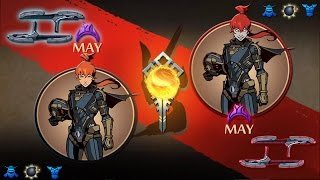 [♕ GOOD MAY vs EVIL MAY ♛] May VS May - Shadow FIght 2