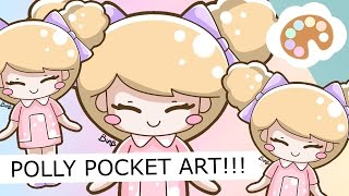 DRAW WITH ME #045 - POLLY POCKET 90