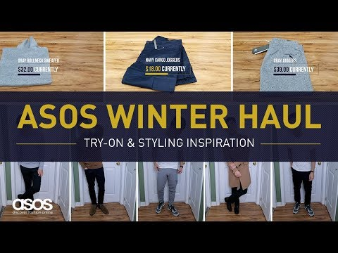 ASOS FASHION WINTER HAUL | Men's Style Clothing Try-On & Outfit Ideas