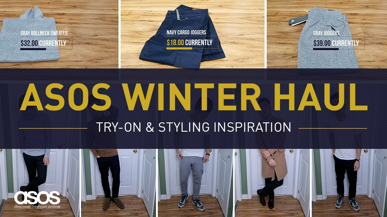 [VIDEO] - ASOS FASHION WINTER HAUL | Men's Style Clothing Try-On & Outfit Ideas 7