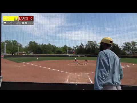 Hesston College Softball vsHighland CC Game1 5/8/2021