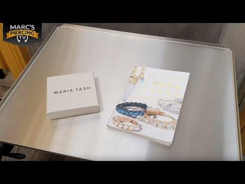 Maria Tash Unboxing Und DAITH Piercing Stechen Mit Horizontal Diamond Eternity 💉 Marc's Piercing TV
