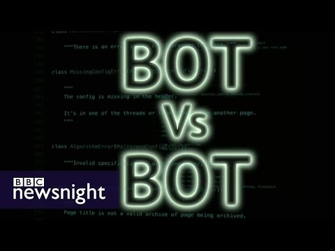 Could bots take over the internet? - BBC Newsnight
