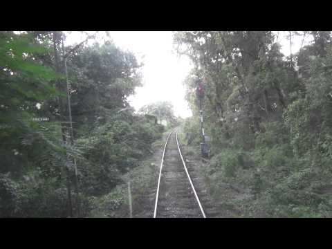 Train Driver's view: railroad in Serbia from Ostruznica to Surcin  3/3 - SERBIAN RAILWAYS