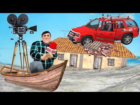 समाचार संवाददाता News Reporter Funny Comedy Video Hindi Kahaniya | Bedtime Moral Stories Fairy Tales