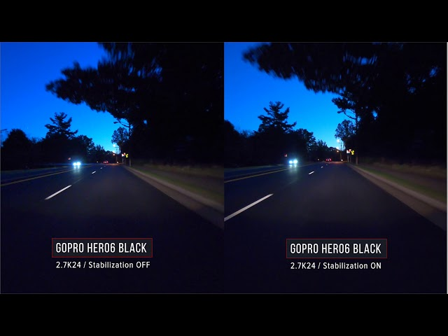GoPro HERO6 Black Stabilization Tests & Examples   Have