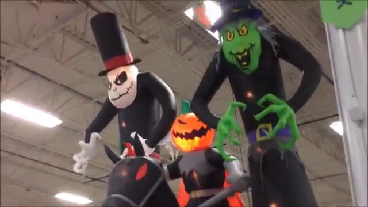 at home store halloween decorations in waterford lakes - youtube