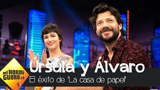 Úrsula Corberó y Álvaro Morte separaron realidad y ficción en 'La casa de papel' - El Hormiguero 3.0