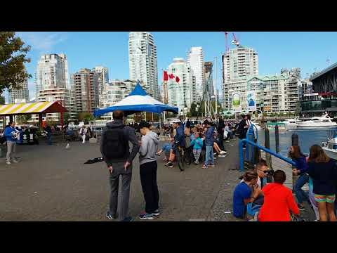 Beautiful music from Grainville Island Vancouver by Auntie Ming Travel