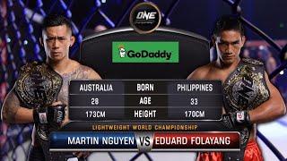 Martin Nguyen Vs. Eduard Folayang Full Fight Replay