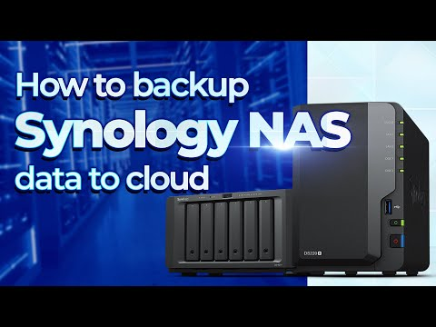How to backup Synology / QNAP NAS to cloud / datacenter - Ahsay