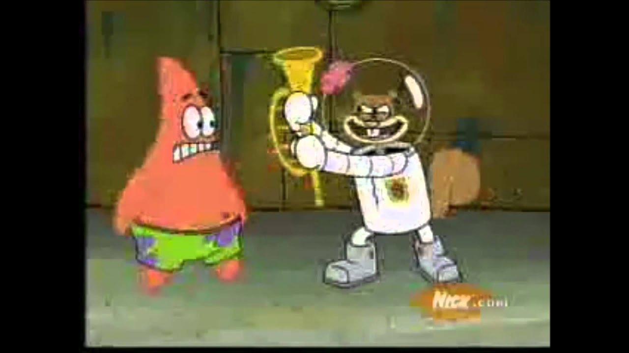 Spongebob Squarepants Band Geeks Patrick Kicks Sandy Again
