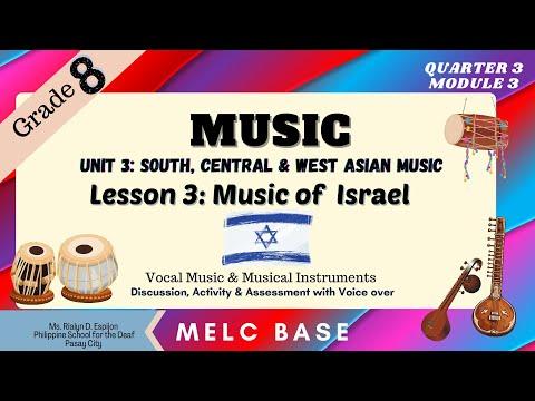 Music Of Israel And Arabia|Grade 8-Music|Quarter 3