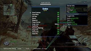 [MW2] Evolve (Host/Non-Host & Pre-Game Menu) Amazing Aimbot!