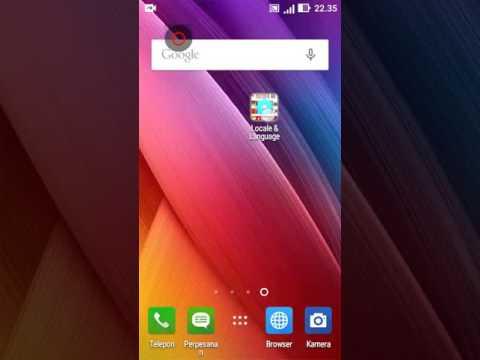 Aplikasi Perubah Bahasa Bawaan Sistem Hp Android | Set Locale And Language