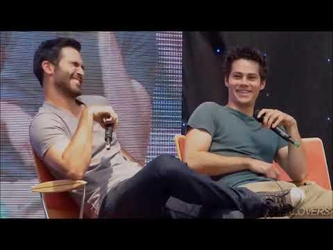 Dylan O'Brien & Tyler Hoechlin - Interview VOSTFR (Stiles & Derek)