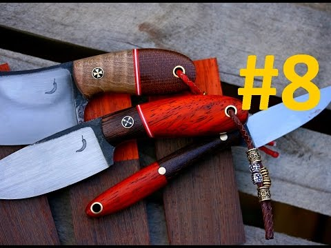 #8 Trollsky knifemaking Vlog - GIVEAWAY of bird and trout knife , 100k subs diploma , Q&A !